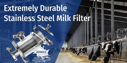 Extremely Durable Stainless Steel Milk Filter